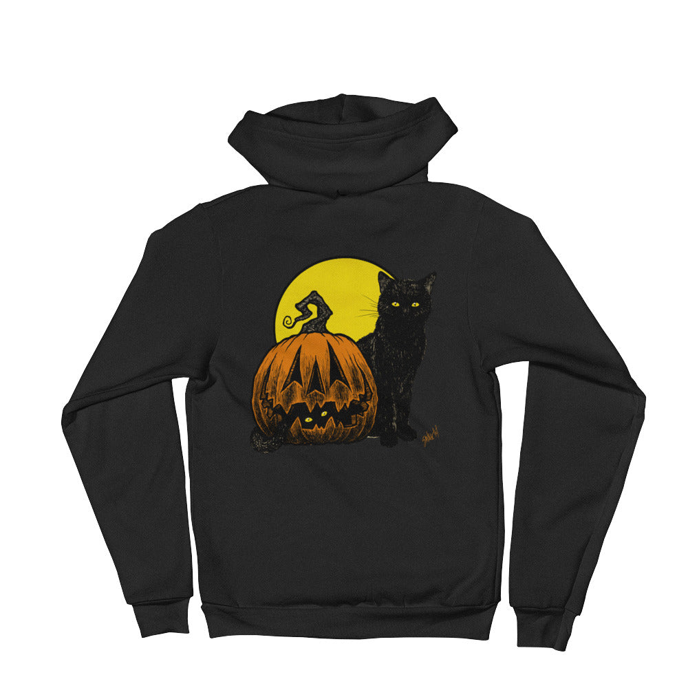 Still Life with Feline and Gourd Hoodie sweater