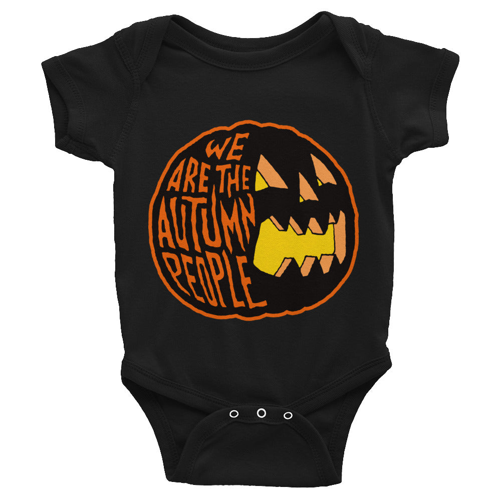 We Are the Autumn People Infant Bodysuit