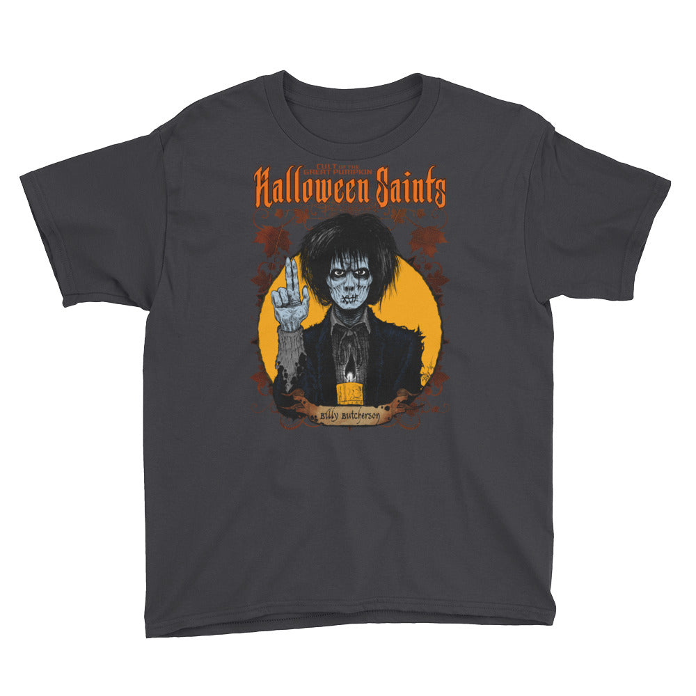 Halloween Saints - Billy Butcherson Youth Short Sleeve T-Shirt