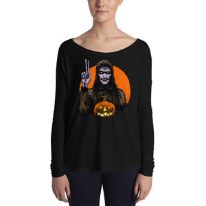 Halloween Saints - ALT - Moundshroud Ladies' Long Sleeve Tee