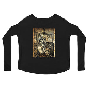 Cult of the Great Pumpkin - Worm King Ladies' Long Sleeve Tee
