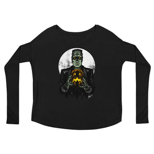 Monster Holiday - The Monster Ladies' Long Sleeve Tee