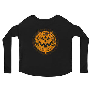 Cult of the Great Pumpkin - Weathered Logo Ladies' Long Sleeve Tee