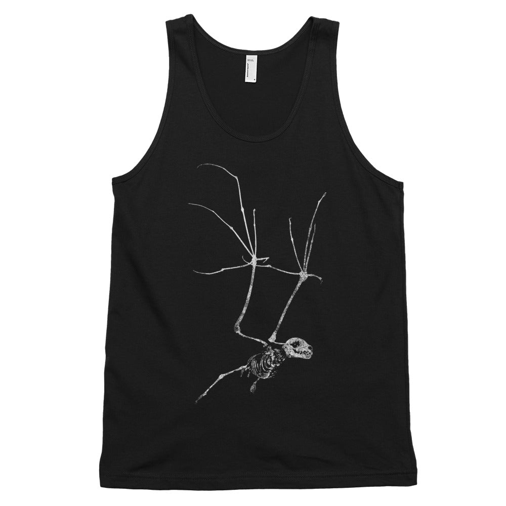Bat Skeleton Classic tank top (unisex)