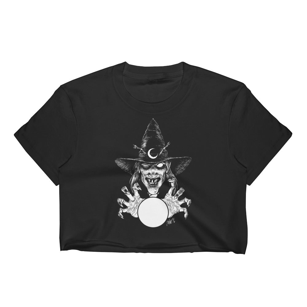 Fearwear Art - Thaumaturge Women's Crop Top
