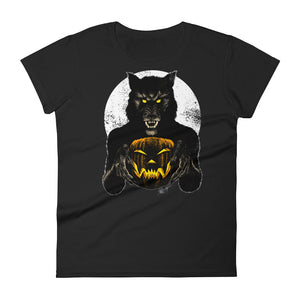 Monster Holiday - Werewolf Women's short sleeve t-shirt