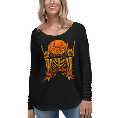 Spooky 4 Life Ladies' Long Sleeve Tee