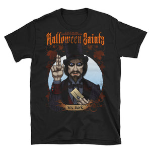 Halloween Saints - Mr. Dark Short-Sleeve Unisex T-Shirt