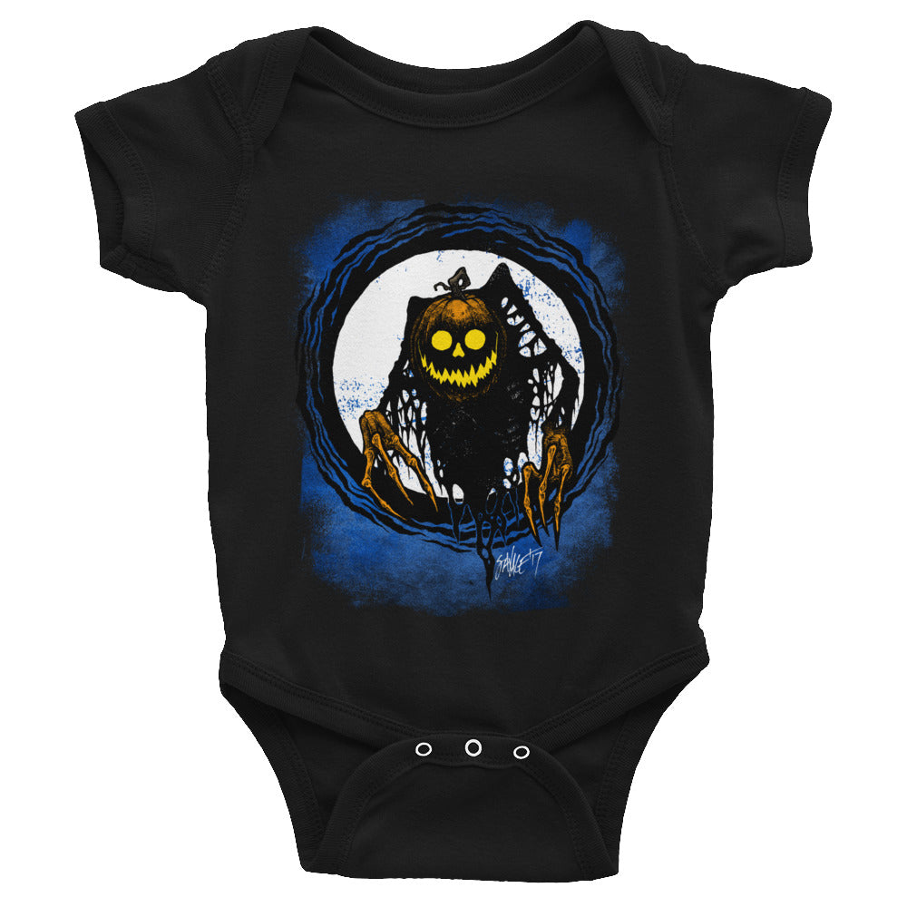 Pumpkin Wicked This Way Comes Infant Bodysuit