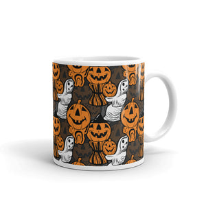Halloween Blowmold Decoration Pattern Mug