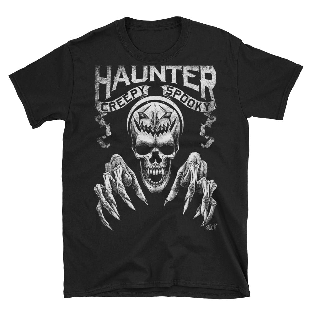 HAUNTER Short-Sleeve Unisex T-Shirt