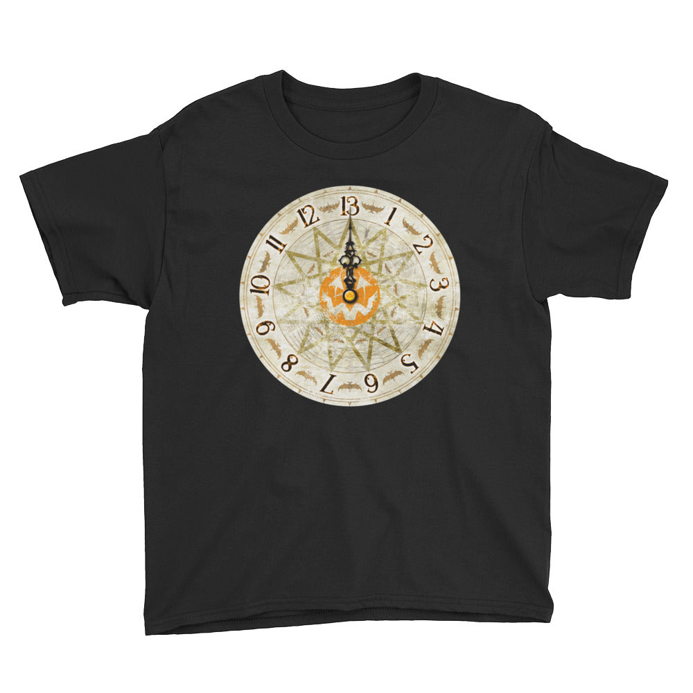 Halloween Time Youth Short Sleeve T-Shirt