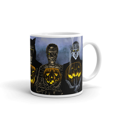 Monster Holiday Mug