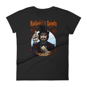 Halloween Saints - Mr. Dark Women's short sleeve t-shirt