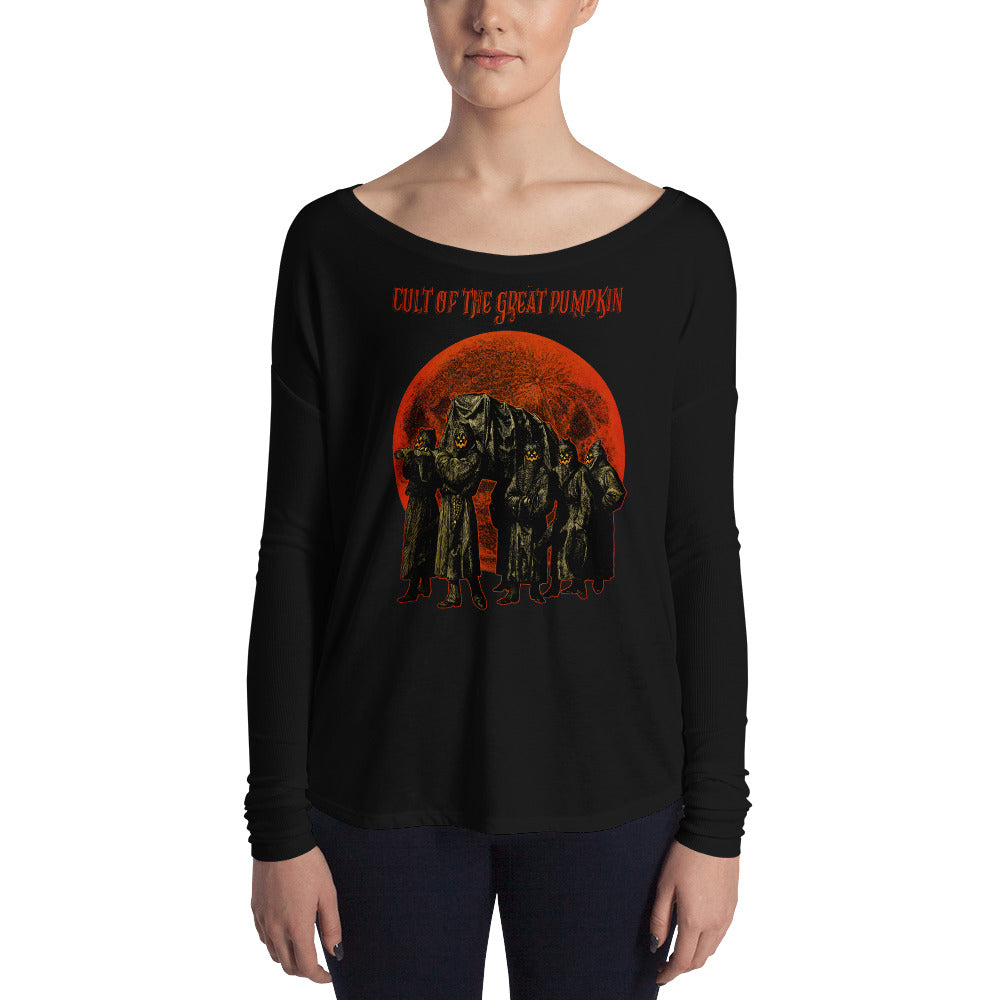 Cult of the Great Pumpkin - Pallbearers Ladies' Long Sleeve Tee