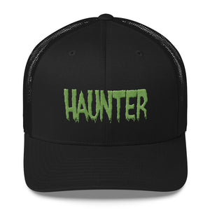 Haunter (Green) Embroidered Trucker Cap