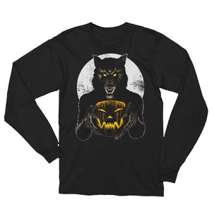 Monster Holiday - Werewolf Unisex Long Sleeve T-Shirt