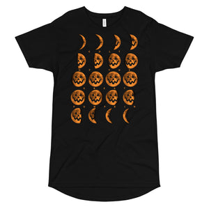 Cult of the Great Pumpkin Moon Phases Long Body Urban Tee