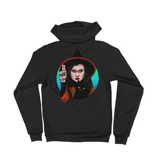 Halloween Saints Series 2 - ALT - Dani and Binx Hoodie sweater