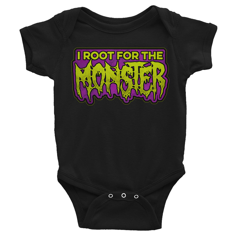 I Root for the Monster Infant Bodysuit