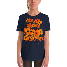 We Are the Autumn People Leaves Youth Short Sleeve T-Shirt