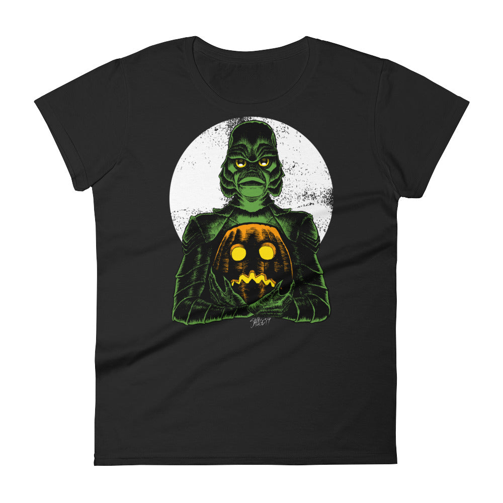 Monster Holiday - Creature Women's short sleeve t-shirt