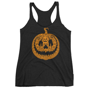 Jack of 1000 Faces Women's Racerback Tank