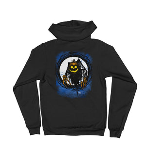 Pumpkin Wicked This Way Comes Hoodie sweater