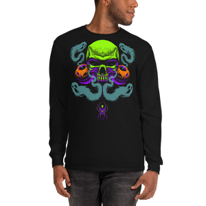 Happy Haunting Gildan 2400 Ultra Cotton Long Sleeve T-Shirt