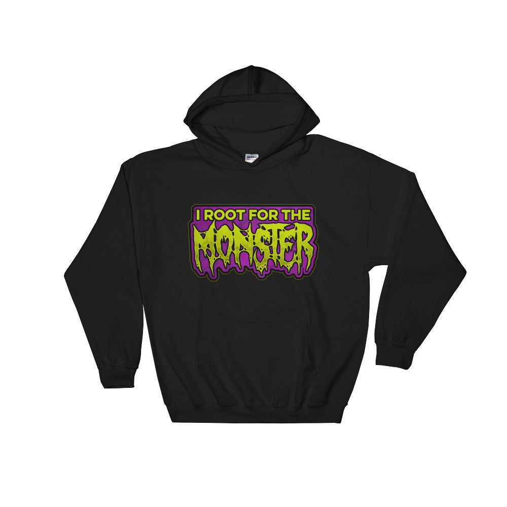I Root for the Monster Hooded Sweatshirt