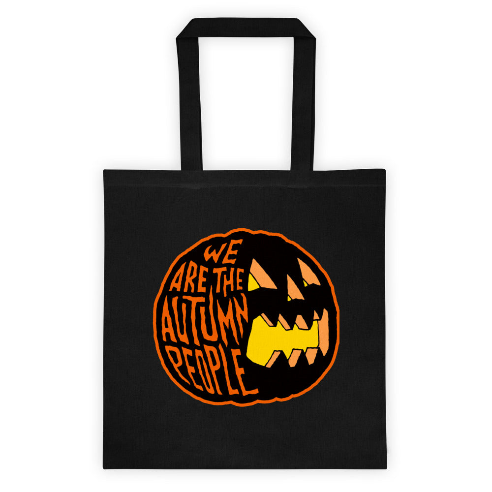 We Are the Autumn People Tote bag