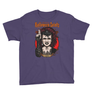 Halloween Saints Series 2 - Angela Youth Short Sleeve T-Shirt