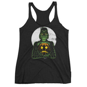 Monster Holiday - Creature Women's Racerback Tank