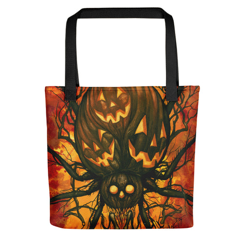 Harvest Spider Tote bag