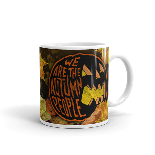 Bradbury Autumn People Mug