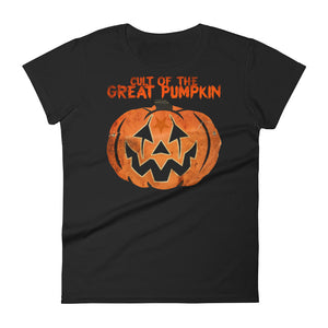 Cult of The Great Pumpkin - Mask Women's short sleeve t-shirt
