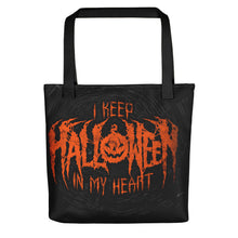 I Keep Halloween In My Heart Tote bag