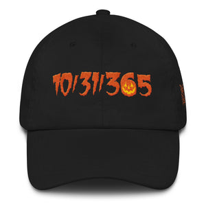 10/31/365 Embroidered Dad hat