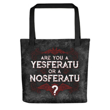 Are you a YESferatu or a NOsferatu? Tote bag