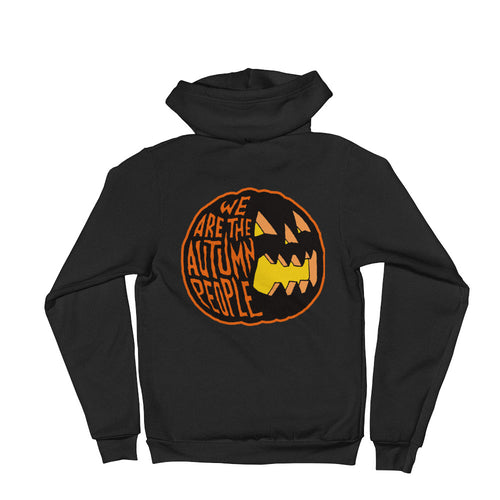 We Are the Autumn People Pumpkin Hoodie sweater