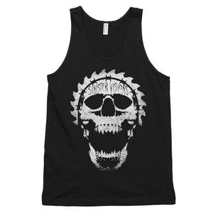 Sinister Visions Screaming Skull Classic tank top (unisex)