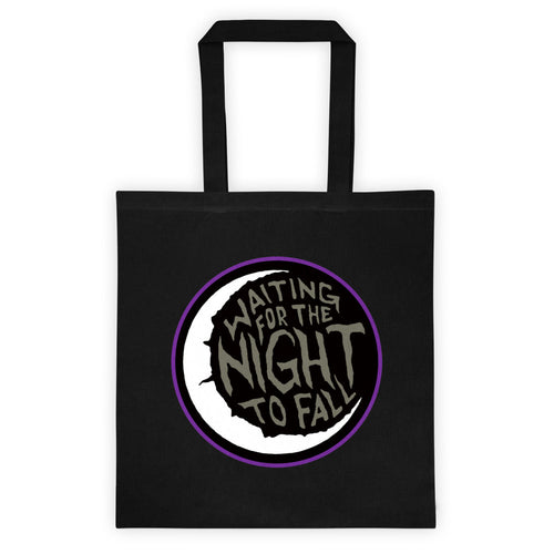Waiting for the Night to Fall Tote bag