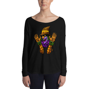 Scareclown Ladies' Long Sleeve Tee