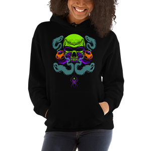 Happy Haunting Gildan 18500 Unisex Heavy Blend Hooded Sweatshirt