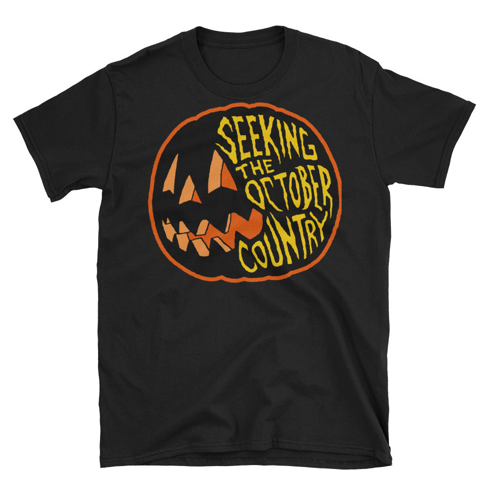 Seeking the October Country Pumpkin Short-Sleeve Unisex T-Shirt