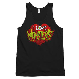 I Love Monsters Classic tank top (unisex)