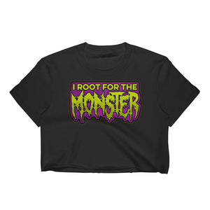 I Root for the Monster Women's Crop Top