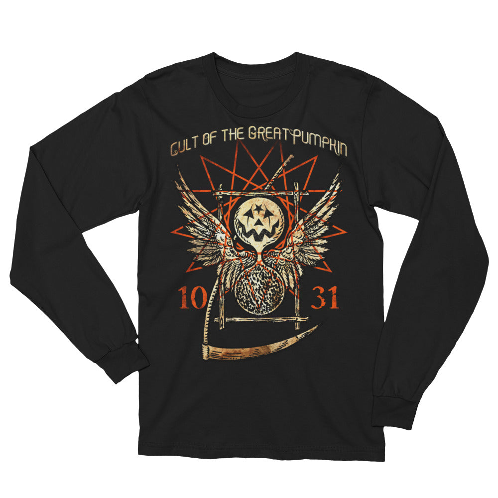 Cult of The Great Pumpkin - Thanatos Hourglass Unisex Long Sleeve T-Shirt
