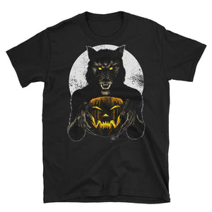Monster Holiday - Werewolf Short-Sleeve Unisex T-Shirt