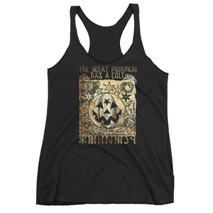 Cult of the Great Pumpkin - Putrefication Women's Racerback Tank
